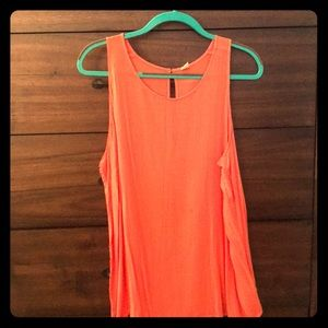 Orange Tank Top From Old Navy